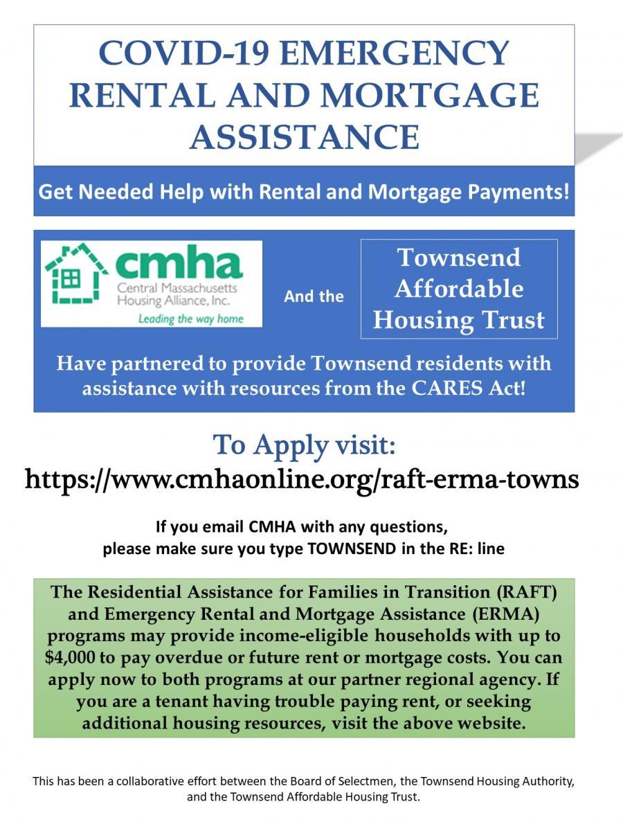 COVID-19 Rental Assistance Flyer